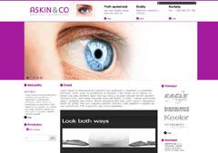webdesign - ASKIN & CO. s.r.o.