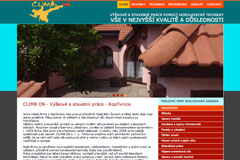 webdesign - CLIMB ON s.r.o.