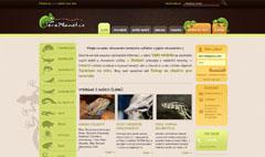 webdesign - ukázka naší tvorby Teraplanet